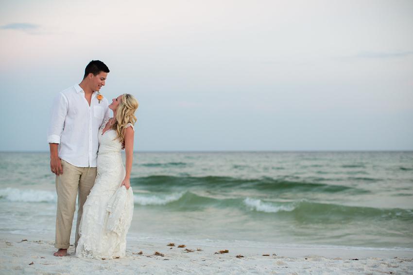 Fun Beach Wedding In Destin Florida